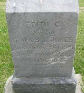 JONES, EDITH C. - Saline County, Nebraska | EDITH C. JONES - Nebraska Gravestone Photos