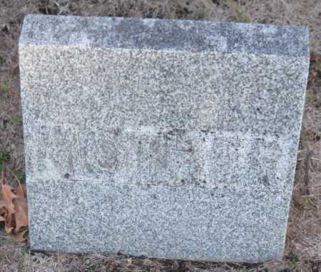 JONES, EMILY - Saline County, Nebraska | EMILY JONES - Nebraska Gravestone Photos