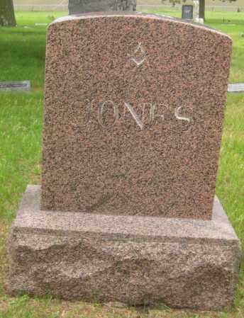 JONES, FAMILY STONE - Saline County, Nebraska | FAMILY STONE JONES - Nebraska Gravestone Photos