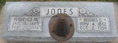 JONES, FLORENCE M. - Saline County, Nebraska   FLORENCE M. JONES - Nebraska Gravestone Photos