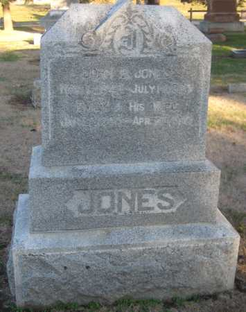 JONES, EMILY - Saline County, Nebraska   EMILY JONES - Nebraska Gravestone Photos