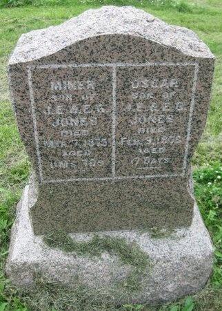 JONES, OSCAR - Saline County, Nebraska | OSCAR JONES - Nebraska Gravestone Photos