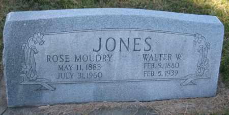 JONES, WALTER W. - Saline County, Nebraska | WALTER W. JONES - Nebraska Gravestone Photos