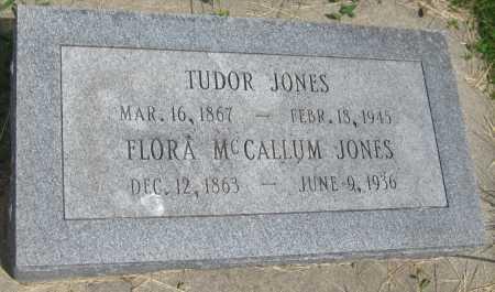 JONES, TUDOR - Saline County, Nebraska | TUDOR JONES - Nebraska Gravestone Photos