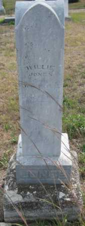 JONES, WILLIE - Saline County, Nebraska | WILLIE JONES - Nebraska Gravestone Photos