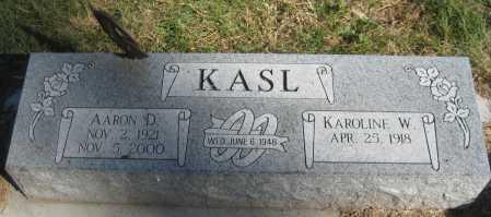 KASL, KAROLINE W. - Saline County, Nebraska | KAROLINE W. KASL - Nebraska Gravestone Photos