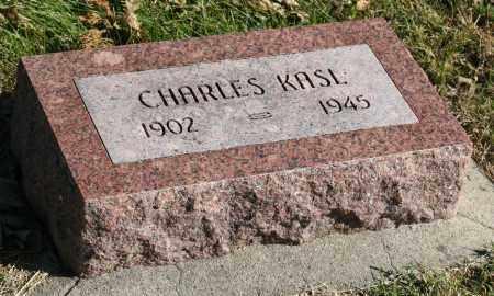 KASL, CHARLES VACLAV - Saline County, Nebraska   CHARLES VACLAV KASL - Nebraska Gravestone Photos