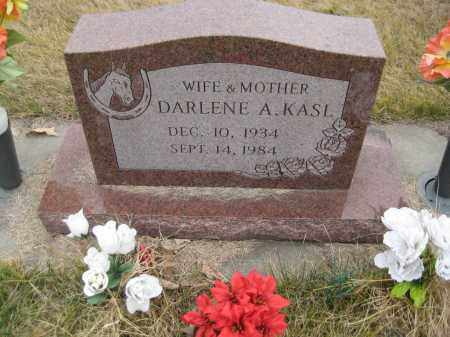 KASL, DARLENE A. - Saline County, Nebraska | DARLENE A. KASL - Nebraska Gravestone Photos