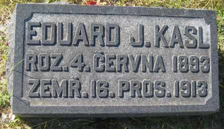 KASL, EDUARD J. - Saline County, Nebraska   EDUARD J. KASL - Nebraska Gravestone Photos
