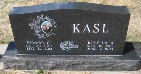 KASL, EDWARD GEORGE - Saline County, Nebraska | EDWARD GEORGE KASL - Nebraska Gravestone Photos