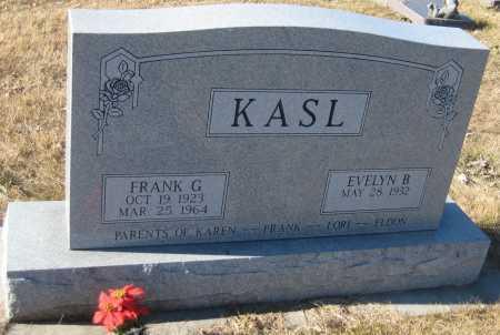 KASL, EVELYN B. - Saline County, Nebraska   EVELYN B. KASL - Nebraska Gravestone Photos