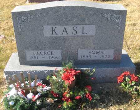 KASL, GEORGE FRANKLIN - Saline County, Nebraska   GEORGE FRANKLIN KASL - Nebraska Gravestone Photos
