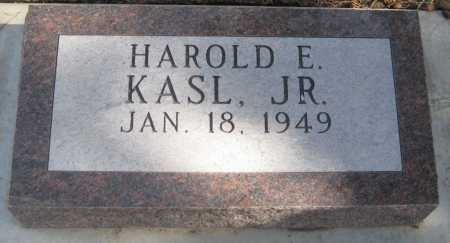 KASL, HAROLD EUGENE JR. - Saline County, Nebraska | HAROLD EUGENE JR. KASL - Nebraska Gravestone Photos