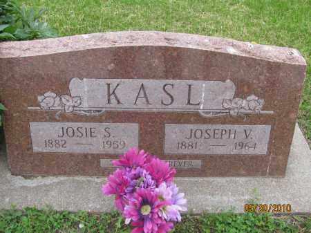KASL, JOSEPH VICTOR - Saline County, Nebraska | JOSEPH VICTOR KASL - Nebraska Gravestone Photos