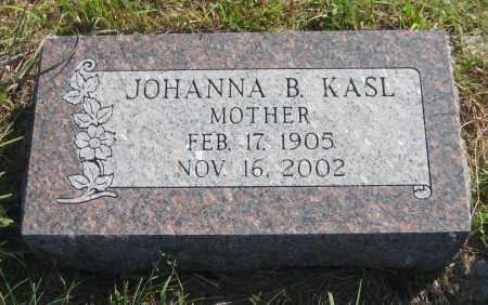 KASL, JOHANNA BERENDIENA - Saline County, Nebraska   JOHANNA BERENDIENA KASL - Nebraska Gravestone Photos