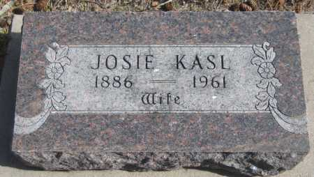 "KASL, JOSEPHINE ""JOSIE"" - Saline County, Nebraska | JOSEPHINE ""JOSIE"" KASL - Nebraska Gravestone Photos"