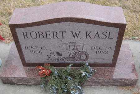 KASL, ROBERT W. - Saline County, Nebraska | ROBERT W. KASL - Nebraska Gravestone Photos