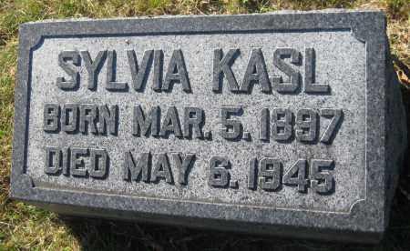 KASL, SYLVIA - Saline County, Nebraska   SYLVIA KASL - Nebraska Gravestone Photos