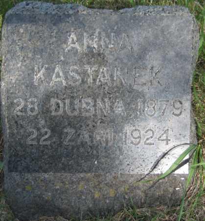 KASTANEK, ANNA - Saline County, Nebraska | ANNA KASTANEK - Nebraska Gravestone Photos
