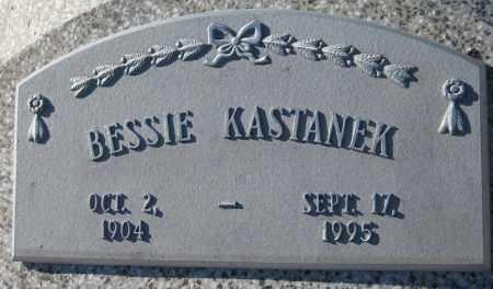 KASTANEK, BESSIE - Saline County, Nebraska | BESSIE KASTANEK - Nebraska Gravestone Photos