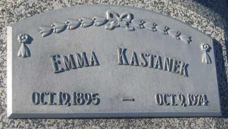 KASTANEK, EMMA - Saline County, Nebraska   EMMA KASTANEK - Nebraska Gravestone Photos