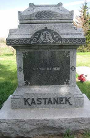 KASTANEK, FAMILY STONE - Saline County, Nebraska | FAMILY STONE KASTANEK - Nebraska Gravestone Photos