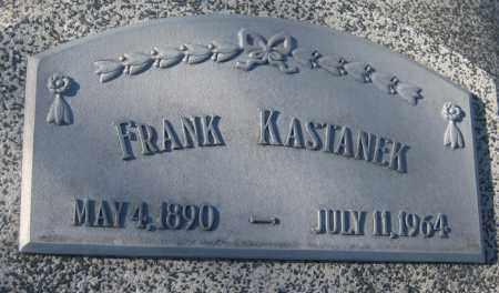 KASTANEK, FRANK - Saline County, Nebraska | FRANK KASTANEK - Nebraska Gravestone Photos