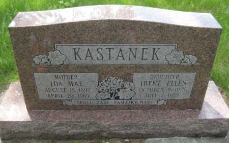 KASTANEK, IDA MAE - Saline County, Nebraska   IDA MAE KASTANEK - Nebraska Gravestone Photos