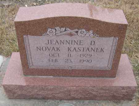 KASTANEK, JEANNINE D. - Saline County, Nebraska   JEANNINE D. KASTANEK - Nebraska Gravestone Photos