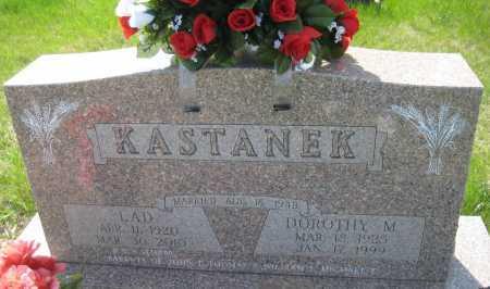 KASTANEK, DOROTHY M. - Saline County, Nebraska   DOROTHY M. KASTANEK - Nebraska Gravestone Photos
