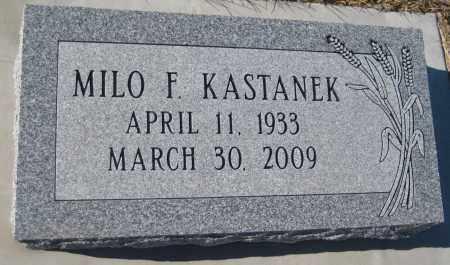 KASTANEK, MILO F. - Saline County, Nebraska   MILO F. KASTANEK - Nebraska Gravestone Photos