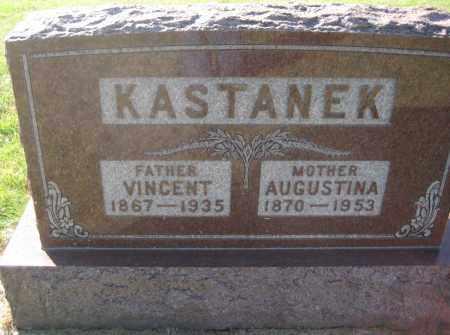 KASTANEK, AUGUSTINA - Saline County, Nebraska | AUGUSTINA KASTANEK - Nebraska Gravestone Photos