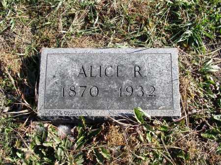 KAZEBEER, ALICE R. - Saline County, Nebraska | ALICE R. KAZEBEER - Nebraska Gravestone Photos