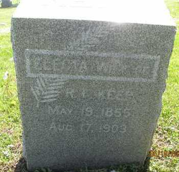 MINER KEEP, ELECTA - Saline County, Nebraska | ELECTA MINER KEEP - Nebraska Gravestone Photos