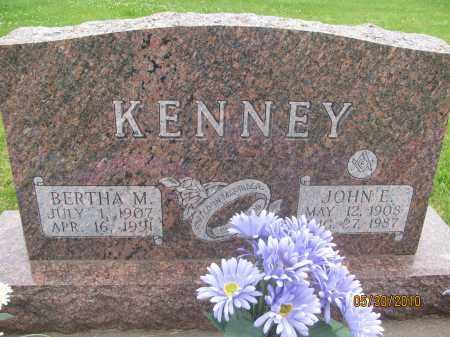 KENNEY, BERTHA M. - Saline County, Nebraska | BERTHA M. KENNEY - Nebraska Gravestone Photos