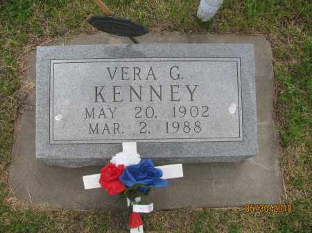 DAINTON KENNEY, VERA GWENDOLYN - Saline County, Nebraska   VERA GWENDOLYN DAINTON KENNEY - Nebraska Gravestone Photos