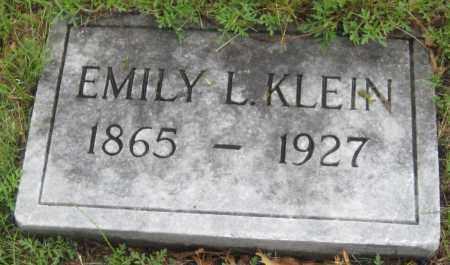 MCELROY KLEIN, EMILY L. - Saline County, Nebraska | EMILY L. MCELROY KLEIN - Nebraska Gravestone Photos