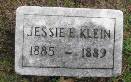 KLEIN, JESSIE E. - Saline County, Nebraska | JESSIE E. KLEIN - Nebraska Gravestone Photos