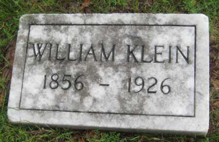 KLEIN, WILLIAM - Saline County, Nebraska | WILLIAM KLEIN - Nebraska Gravestone Photos