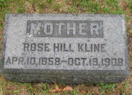 KLINE, ROSE - Saline County, Nebraska   ROSE KLINE - Nebraska Gravestone Photos