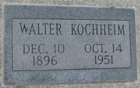 KOCHHEIM, WALTER - Saline County, Nebraska | WALTER KOCHHEIM - Nebraska Gravestone Photos