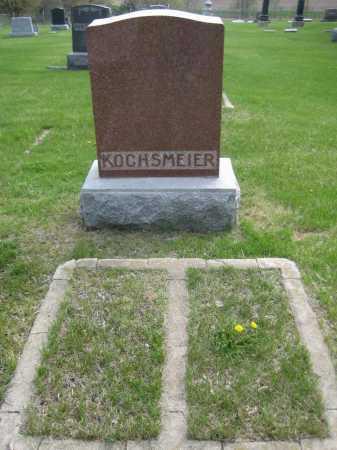 KOCHSMEIER, FAMILY MONUMENT - Saline County, Nebraska | FAMILY MONUMENT KOCHSMEIER - Nebraska Gravestone Photos