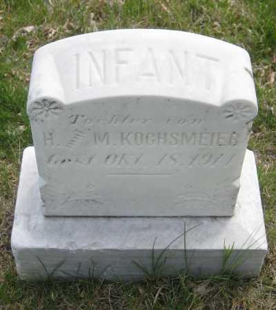 KOCHSMEIER, INFANT DAUGHTER - Saline County, Nebraska | INFANT DAUGHTER KOCHSMEIER - Nebraska Gravestone Photos