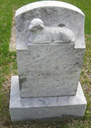 KOCHSMEIER, INFANT SON - Saline County, Nebraska | INFANT SON KOCHSMEIER - Nebraska Gravestone Photos
