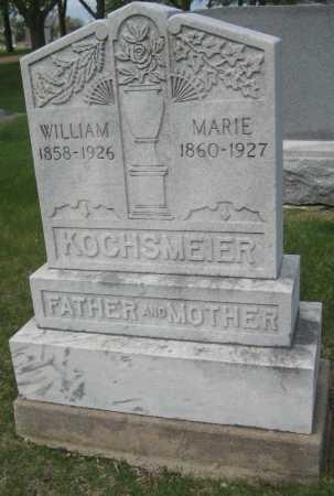 KOCHSMEIER, WILLIAM - Saline County, Nebraska | WILLIAM KOCHSMEIER - Nebraska Gravestone Photos