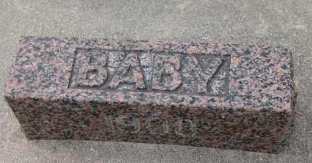 HOMOLKA, BABY - Saline County, Nebraska | BABY HOMOLKA - Nebraska Gravestone Photos