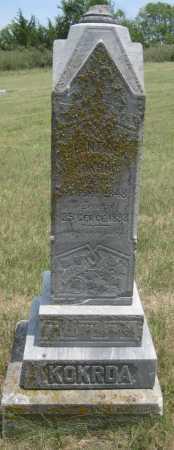 KOKRDA, FRANTISEK - Saline County, Nebraska | FRANTISEK KOKRDA - Nebraska Gravestone Photos
