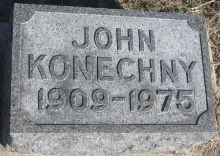 KONECHNY, JOHN - Saline County, Nebraska | JOHN KONECHNY - Nebraska Gravestone Photos