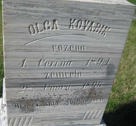 KOVARIK, OLGA - Saline County, Nebraska   OLGA KOVARIK - Nebraska Gravestone Photos