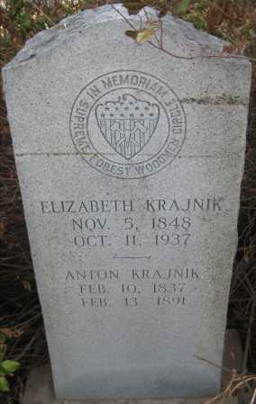 KRAJNIK, ANTON - Saline County, Nebraska | ANTON KRAJNIK - Nebraska Gravestone Photos